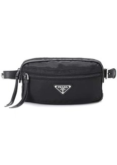 Prada Leather-trimmed belt bag
