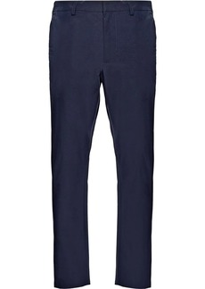 Prada Light stretch technical fabric trousers