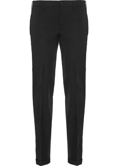 Prada light stretch technical trousers