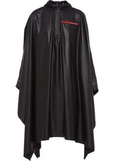 Prada Linea Rossa hooded poncho