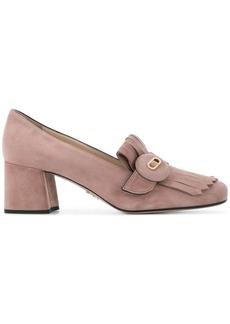 Prada loafer pumps