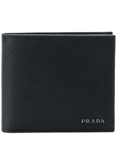 Prada logo bifold wallet