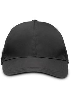 Prada logo plaque baseball cap