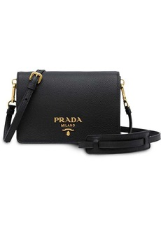 d4de107ae45f Prada logo shoulder bag