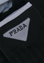 Prada logo stitched socks