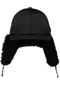 Prada logo trapper hat