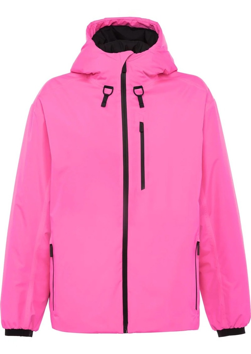 Prada Linea Rossa technical hooded jacket