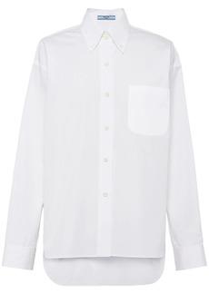Prada long sleeve poplin shirt