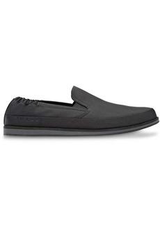 Prada low top almond toe sneakers