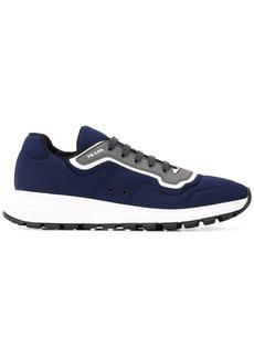Prada low top logo sneakers
