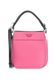 Prada Margit Leather Shoulder Bag