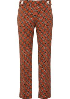 Prada Medallion motif cropped trousers