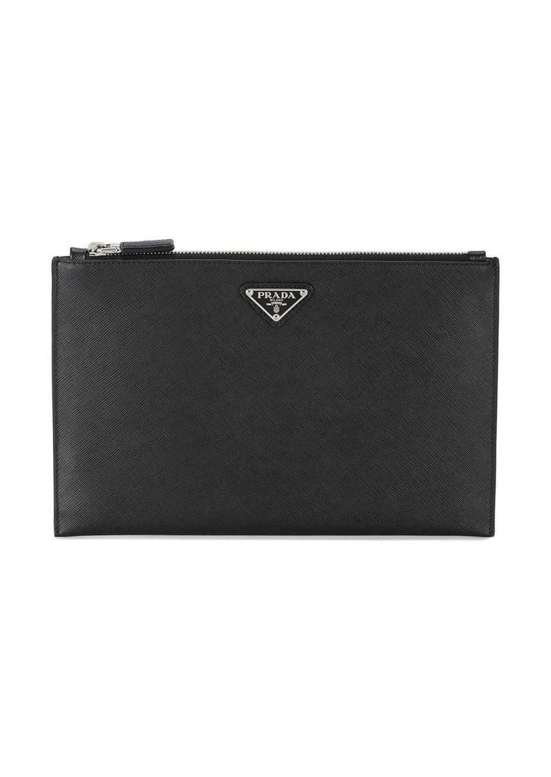Prada Medium Leather Pouch