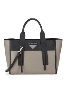 Prada Medium Ouverture Leather Crossbody Bag