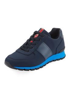 Prada Men's Leather & Nylon Running Sneakers