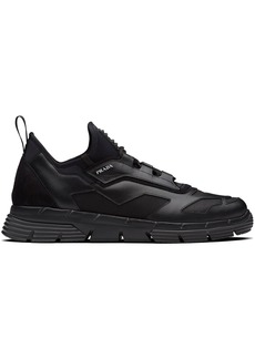 Prada mesh panel low-top sneakers