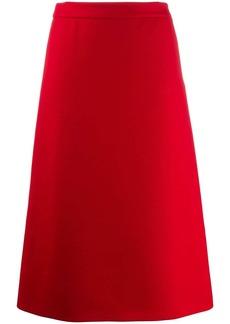 Prada mid-length A-line skirt