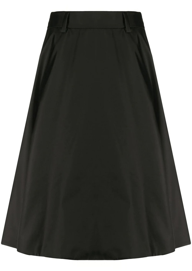 Prada mid-length A-line skirt