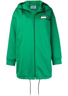 Prada mid-length track jacket