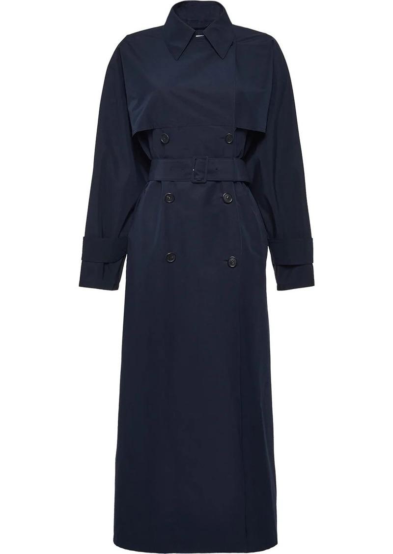 Prada mid-length trench coat