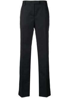 Prada mid-rise flared trousers
