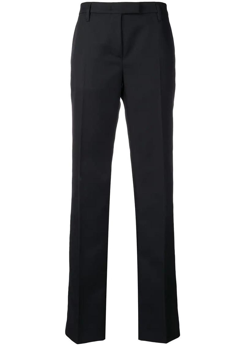 Prada mid-rise flared trousers