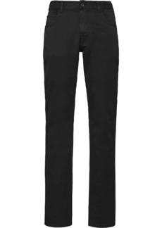 Prada mid-rise straight-leg trousers