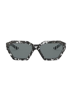 Prada Millennials 57MM Geometric Sunglasses