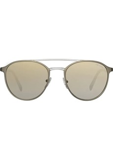 Prada mirrored gradient sunglasses
