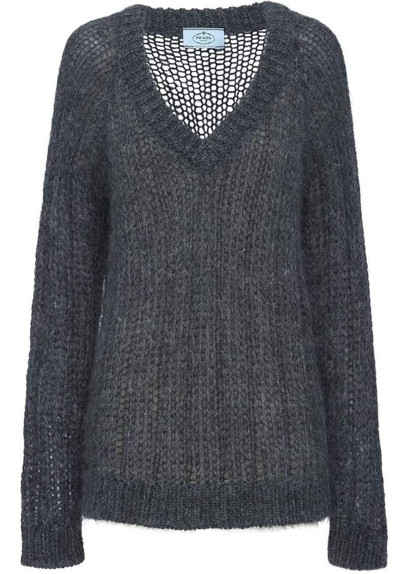 Prada Mohair and wool sweater