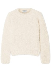 Prada Mohair, Cashmere And Silk-blend Bouclé Sweater