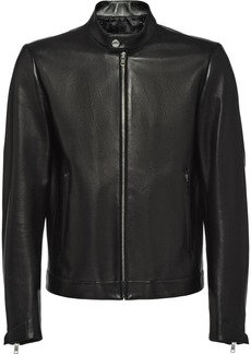 Prada nappa leather biker jacket