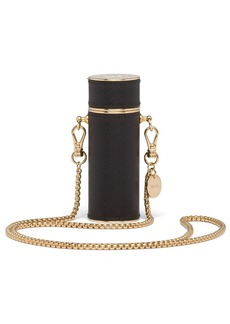 Prada necklace lipstick case