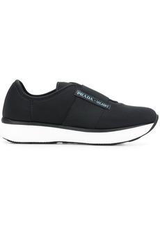 Prada neoprene slip-on sneakers
