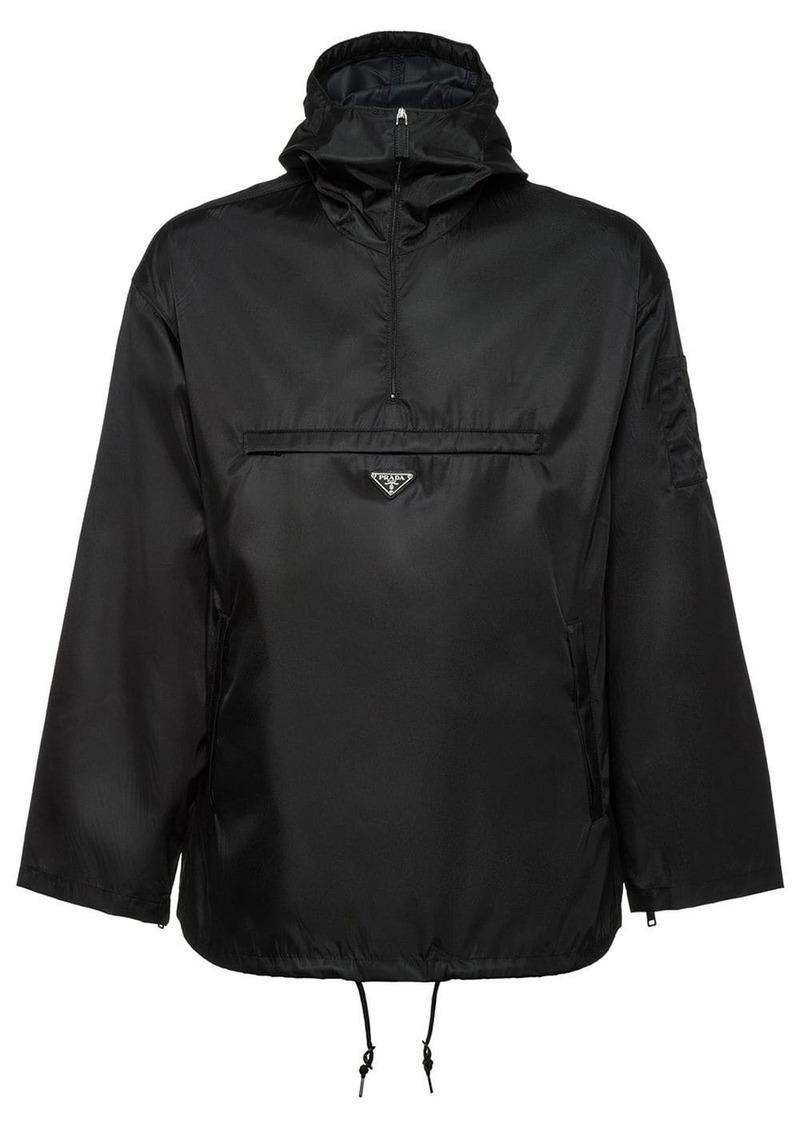 Prada nylon gabardine anorak jacket