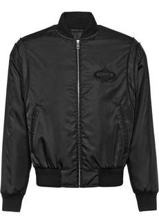 Prada logo bomber jacket