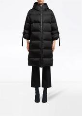 Prada Nylon midi puffer jacket