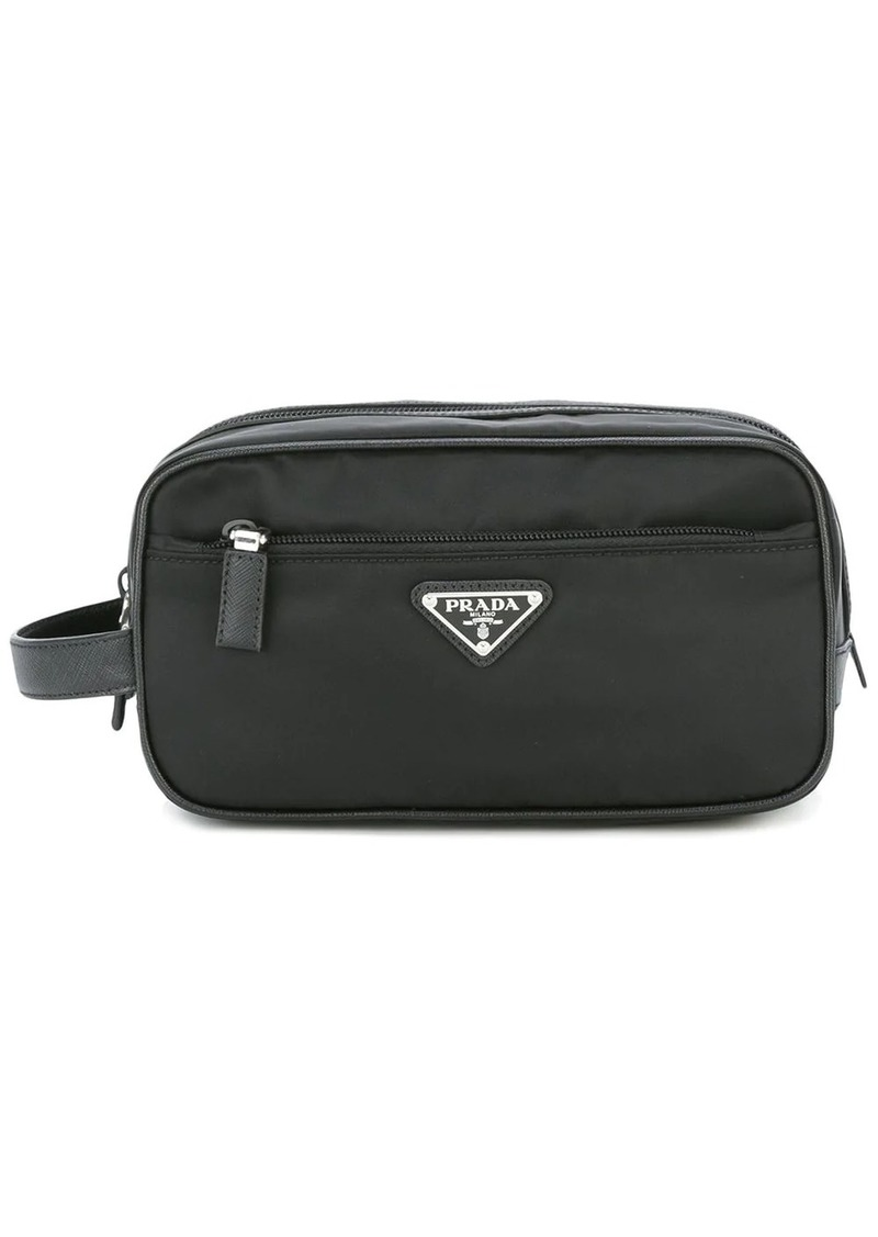 Prada nylon wash bag