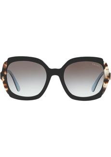 Prada oversized frame sunglasses