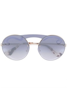 Prada oversized frameless sunglasses