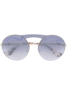 Prada oversized frameless sunglasses