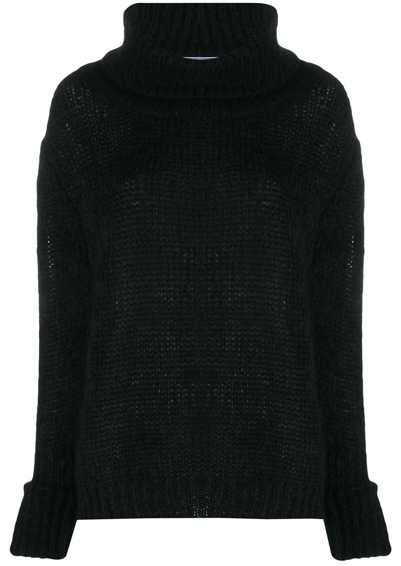 Prada oversized knitted jumper