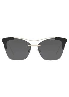 Prada oversized square framed sunglasses