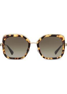 Prada oversized square sunglasses