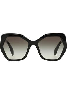 Prada oversized tinted sunglasses