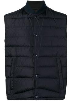 Prada padded gilet jacket