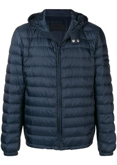 Prada padded hooded coat