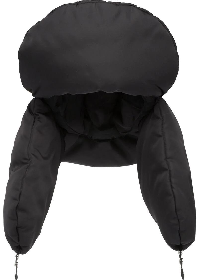 Prada padded nylon gabardine hat