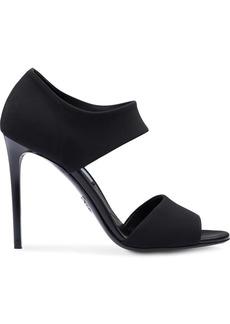 Prada panelled sandals