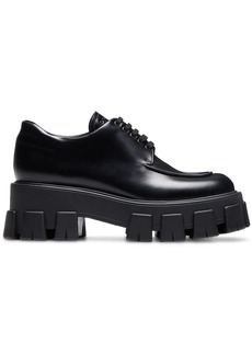 Prada patent tread sole creepers